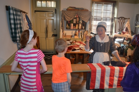 chatting with Betsy Ross