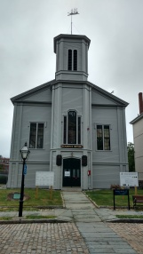 the church was important to the whaling men. It also is apparently featured in Moby Dick, which was set here.