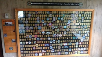 They have a big display with (pretty much) every Junior Ranger badge and patch available!