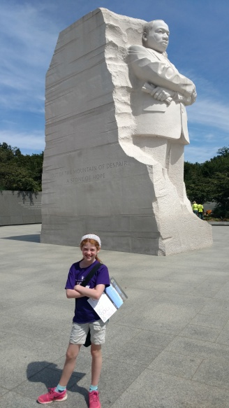 This memorial was built after we moved away from DC, and this was my first time visiting it.