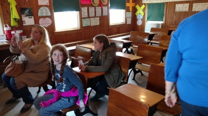 Amish children go to school through 8th grade.