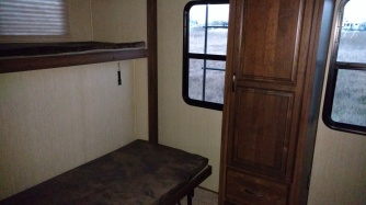 a bunk room in the second RV store