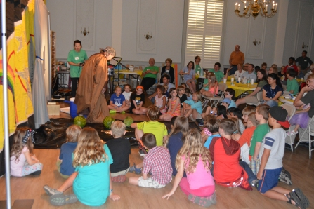 VBS - learning about God's covenant with Moses