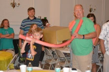 VBS game - carrying the ark of the covenant